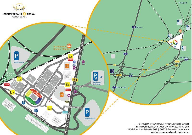 Waldparkplatz Frankfurt Adresse